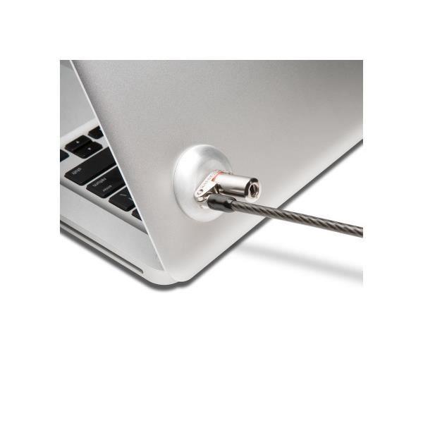 Kensington Kit encoche de sécurité pour Ultrabook™, Clé plate, Métallique