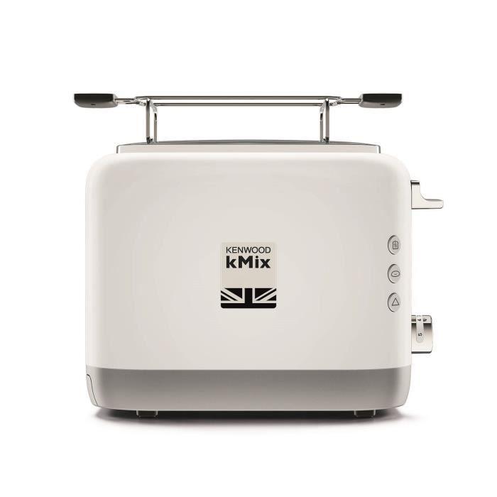 KENWOOD TCX751WH Grille-pain kMix - 2 fentes - 900 W - Blanc