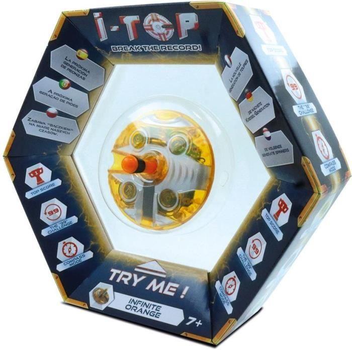 Goliath - ITOP Infinite (orange) - Toupie compte-tours