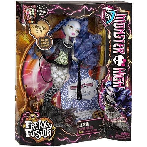 Monster High Freaky Fusion Sirena von Boo Doll (Discontinued by manufacturer)