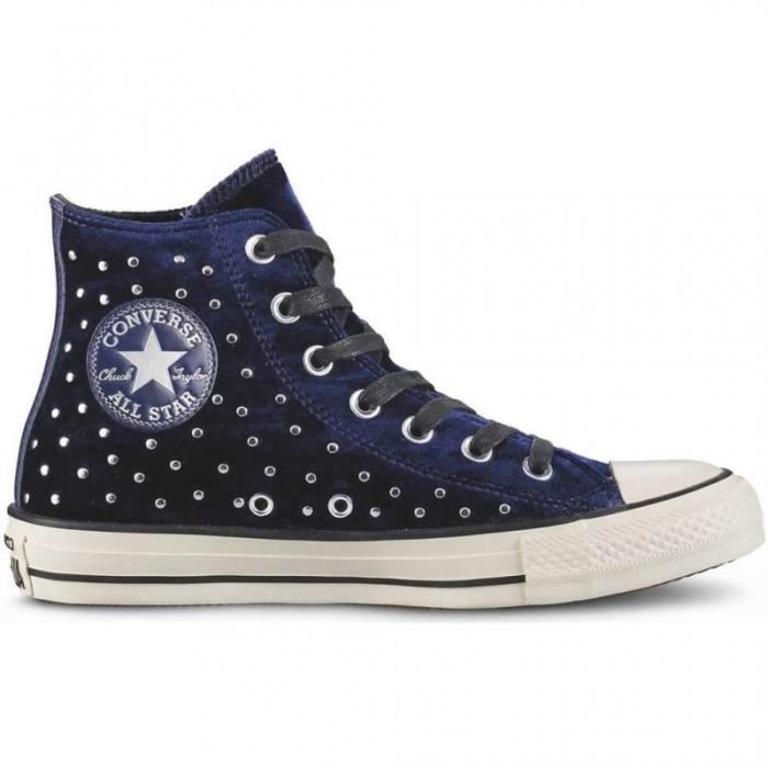 BASKET - converse chuck taylor all star hi velvet studs