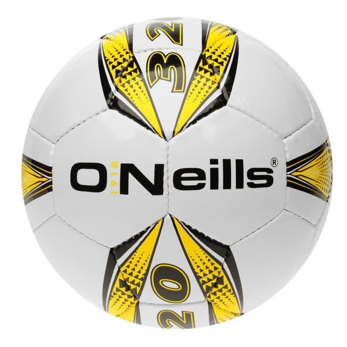 ONEILLS Ballon de football Pro Series - mixte - blanc/jaune