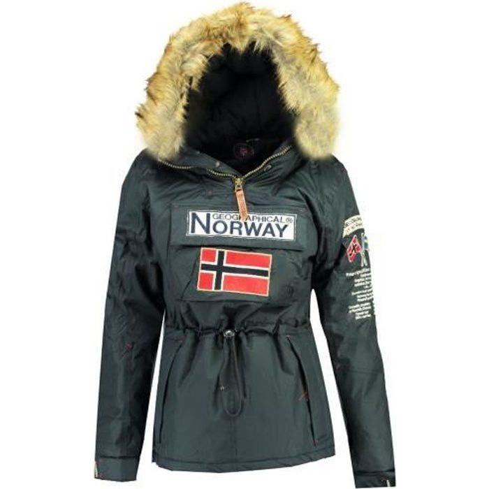 Parka Femme Geographical Norway Bridget New Marine