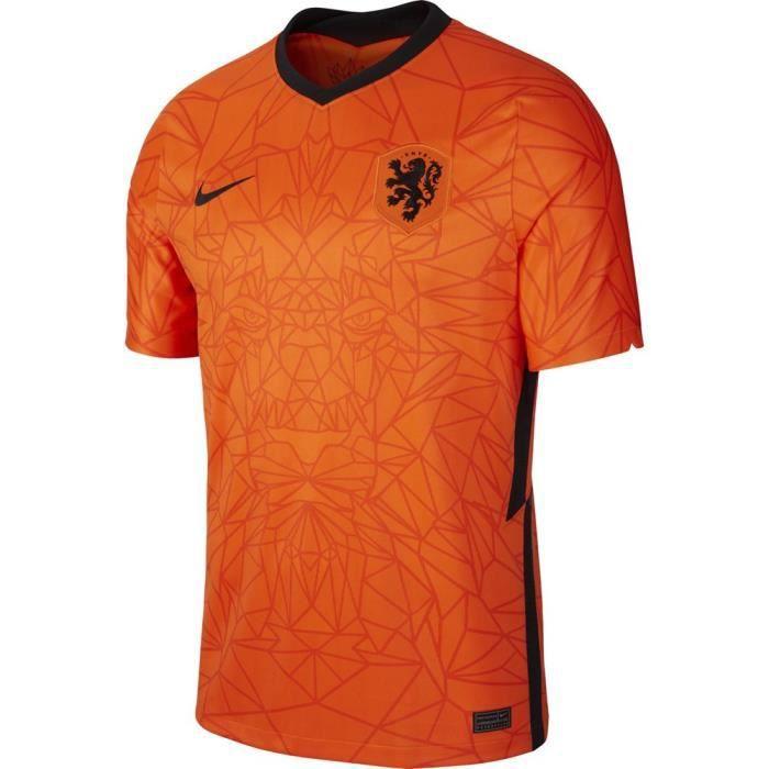 NIKE Maillot Pays Bas 2021 Nouveau Maillot de Football Homme Adulte - Orange