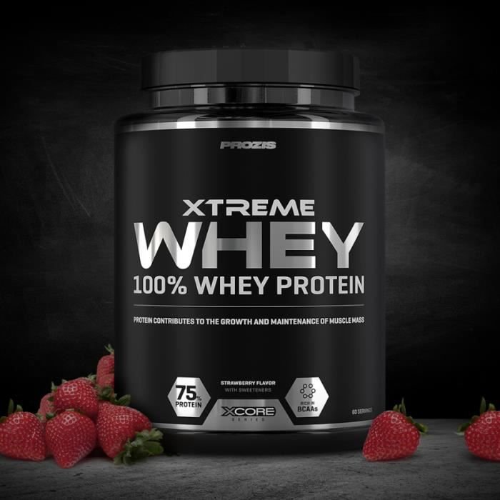 Xtreme Whey Protein 2000g SS (Fraise)