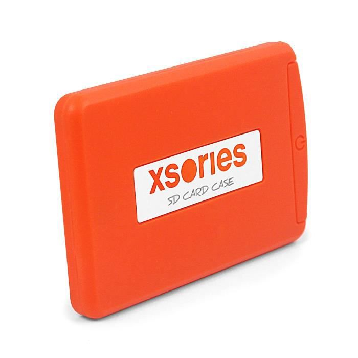 XSORIES Étui pour Carte Mémoire - Orange