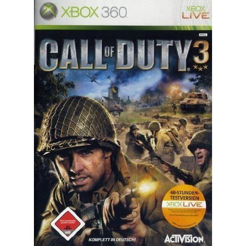 JEUX XBOX 360 X-BOX 360 CALL OF DUTY 3