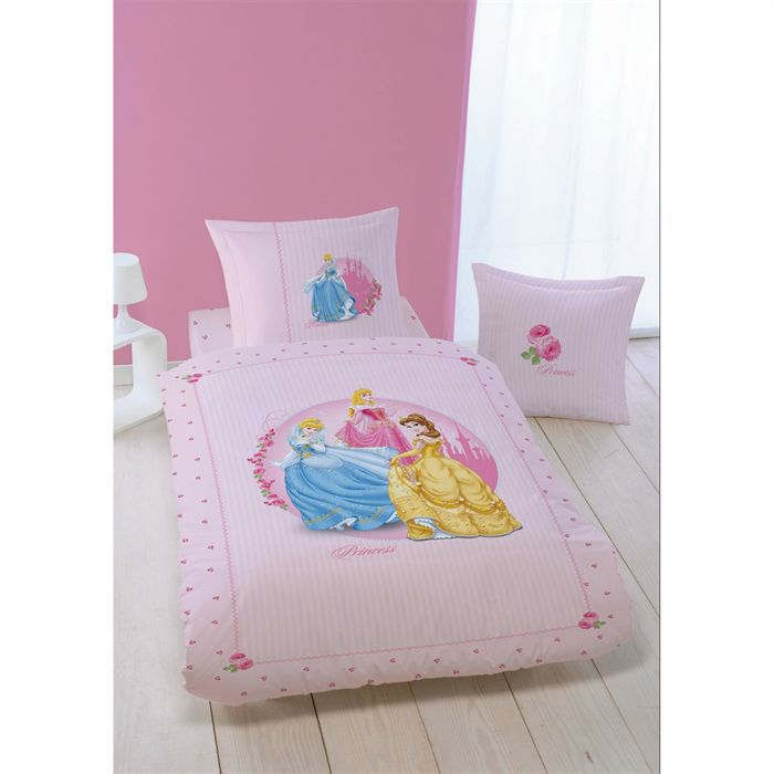Drap housse 90 x 190 cm princess roses for Drap housse rose