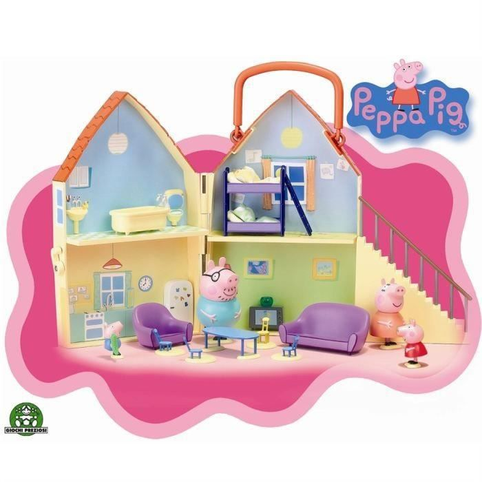 giochi preziosi la maison peppa pig achat vente univers miniature giochi preziosi la. Black Bedroom Furniture Sets. Home Design Ideas