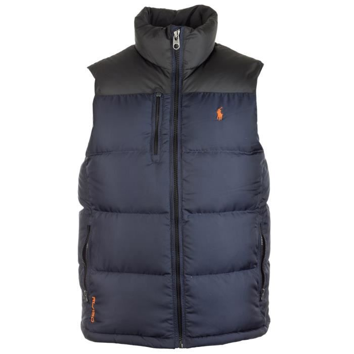 gilet rl250 down filled homme ralph lauren bleu bleu achat vente doudoune gilet rl250. Black Bedroom Furniture Sets. Home Design Ideas