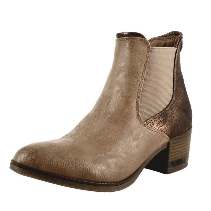 bottines / low boots 1230501 femme mustang 1230501