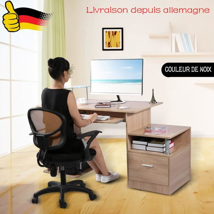bureau de travail maison perfect le mobilier duun bureau de travail la maison with bureau de. Black Bedroom Furniture Sets. Home Design Ideas