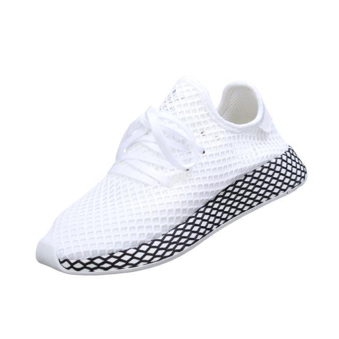 Basket Adidas Deerupt Runner B41767 Blanc Blanc - Achat ...