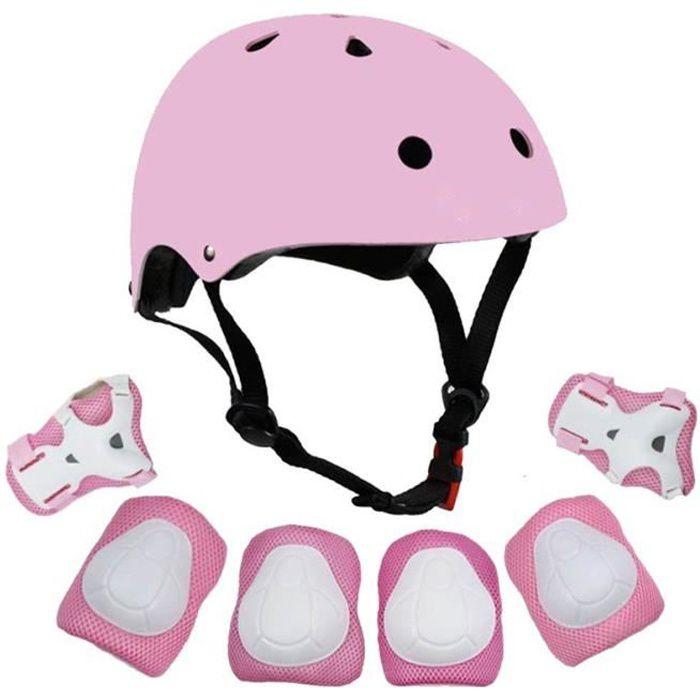 CASQUE DE VÉLO Casque Vélo Enfant Kit de Protections pour Enfants