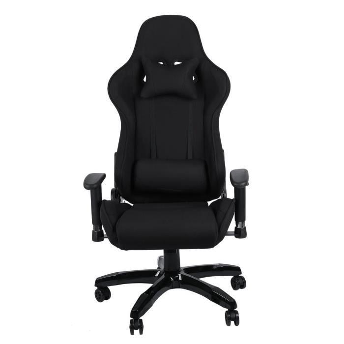 SIÈGE GAMING Chaise de bureau pivotante fauteuil ,Hauteur Régla
