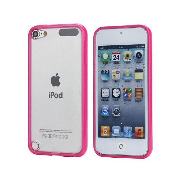 Coque ipod touch 5 housse arri re transparente coque for Housse ipod touch