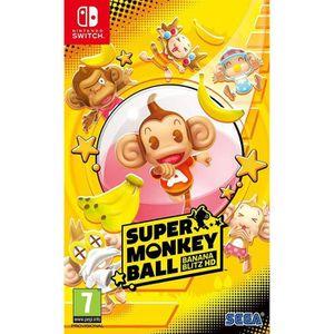 JEU NINTENDO SWITCH Super Monkey Ball HD Banana Blitz Jeu Switch