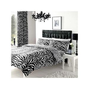 linge de lit zebre achat vente linge de lit zebre pas. Black Bedroom Furniture Sets. Home Design Ideas