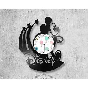 HORLOGE - PENDULE Horloge vinyle Walt-Disney parfait pour un anniver