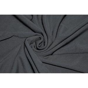 TISSU Tissu 'Lycra' Solton Noir Au Mètre