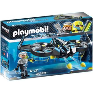 UNIVERS MINIATURE PLAYMOBIL 9253 - Top Agents - Mega Drone