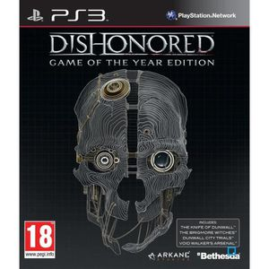 JEU PS3 Dishonored: Game of the Year Edition (Playstation