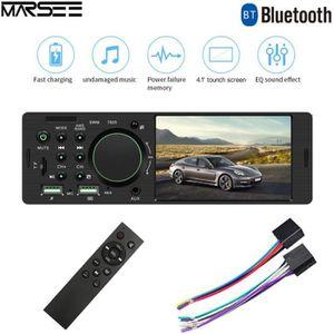 AUTORADIO Autoradio Bluetooth Main Libre 1 Din 60W, Poste St