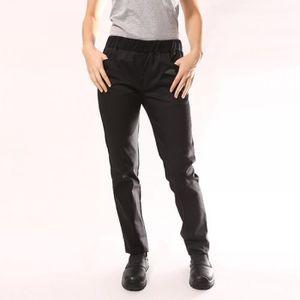 PANTALON PRO Pantalon de Cuisine Femme noir Manelli