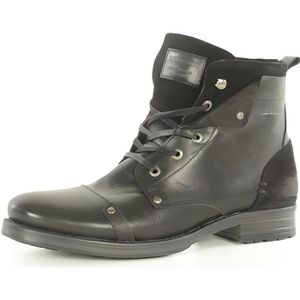 BOTTINE Boots montants cuir Yedes -REDSKINS Noir Homme