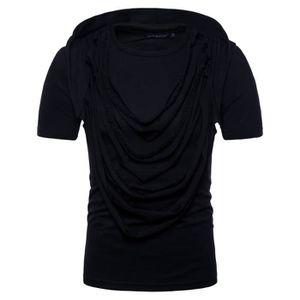 2020 Men/'s Fitness Sweat à capuche sans manches à capuche T-shirt Tee Ghost Tops Chemisier Slim