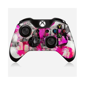 STICKER - SKIN CONSOLE Skin manette Xbox One Design A touch of pink