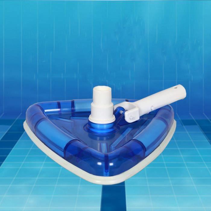 Surface pondérée de nettoyage de tête d'aspirateur de piscine et de spa sans danger sur les piscines revêtues de vinyle PACK