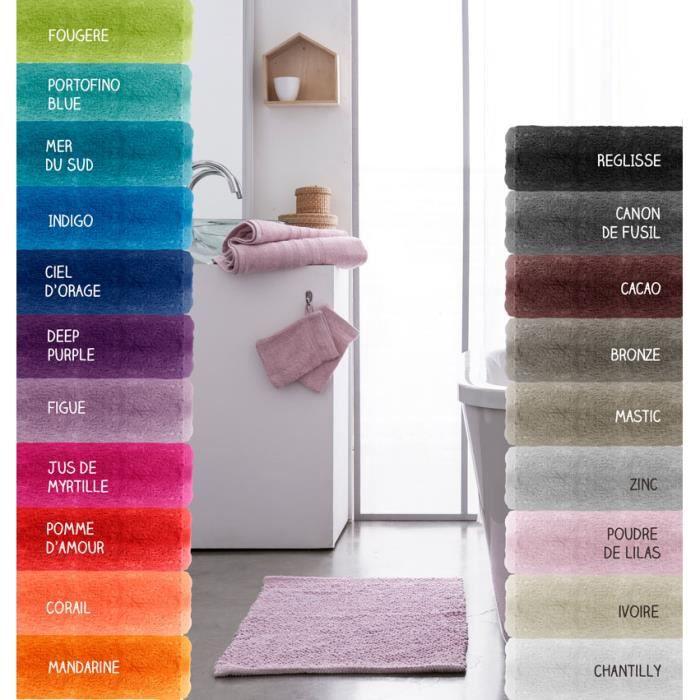Serviette de toilette - 500 gr/m² - 50 x 90 cm - Today Jus de myrtille