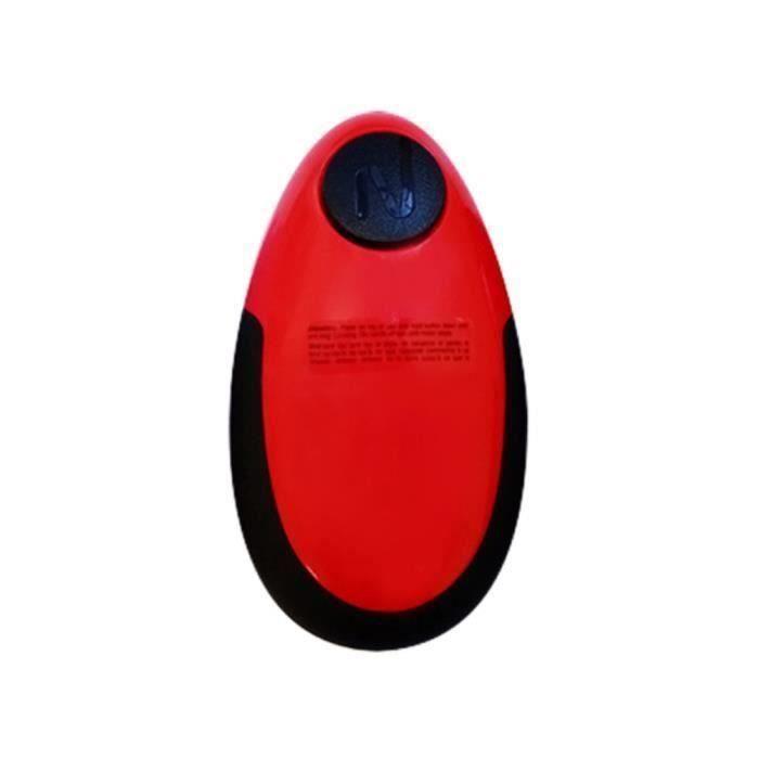 Ouvre-boîte électrique Mini Ouvre-boîte à Couteau, Rouge