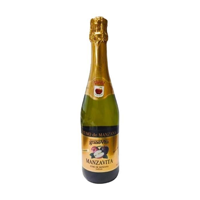 GRANOVITA - Jus de pomme pétillant Manzavita 750 ml