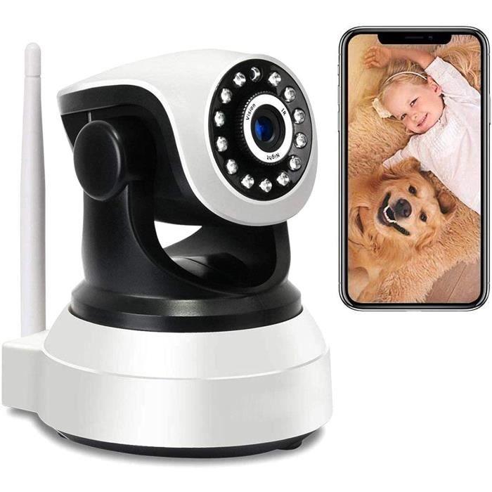 BABY PHONE Cam&eacutera Surveillance WiFi PTZ IP Cam&eacutera de Surveillance Int&eacuterieure 1080P HD WiFi Interieur Babyph181