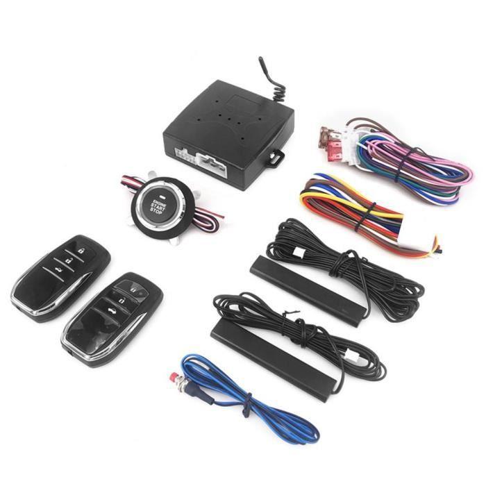 Antivol - Bloque Roue,Système de démarrage sans clé voiture antivol système d'alarme à distance Auto SUV bouton de - Type For x5