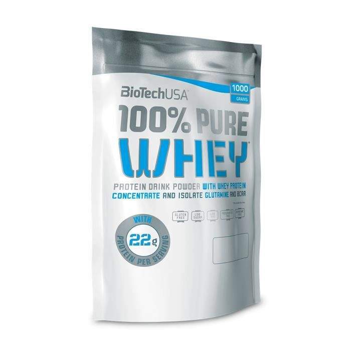 100% Pure Whey 1000 g - Caramel/Cappuccino