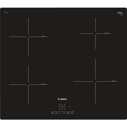 Bosch PUE611BF1E Plaque de cuisson à induction, Noir
