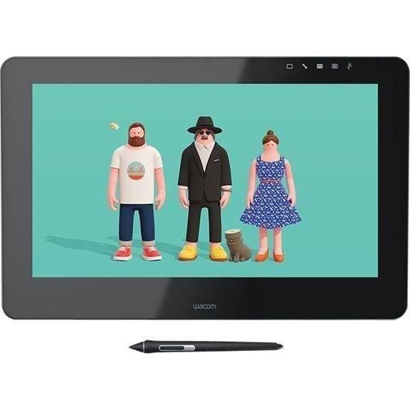 WACOM Cintiq Pro 16 Uhd New - Tablette graphique + ACK-20003 5 pointes stylet feutre