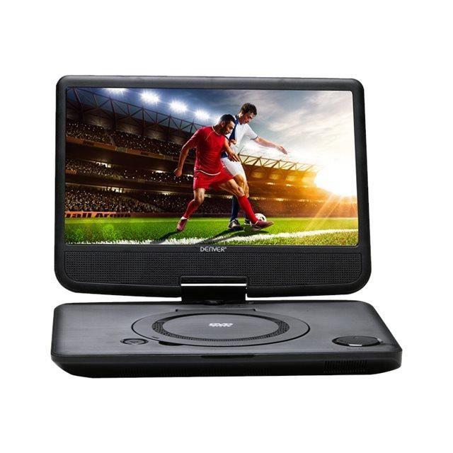 DENVER MT-1083NB Lecteur DVD portable -écran: 10.1-