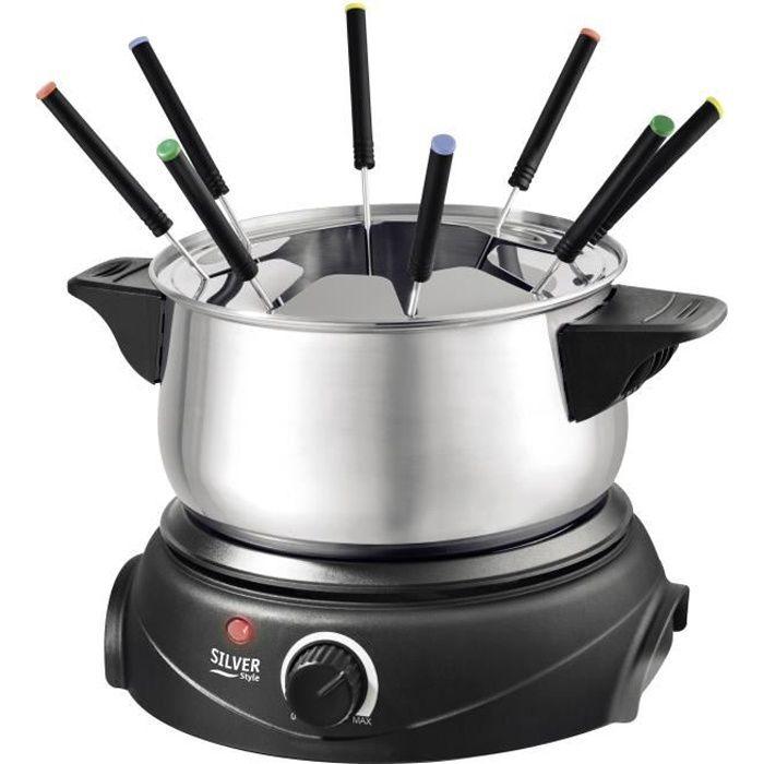 SILVER STYLE 533 Appareil à fondue électrique - Inox