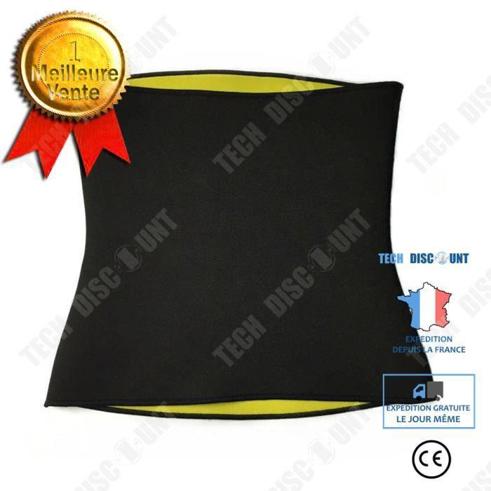 TD® Ceinture de sueur abdomen fitness réduction du ventre de la ceinture de réduction ceinture minceur shapewear ventre XXXL