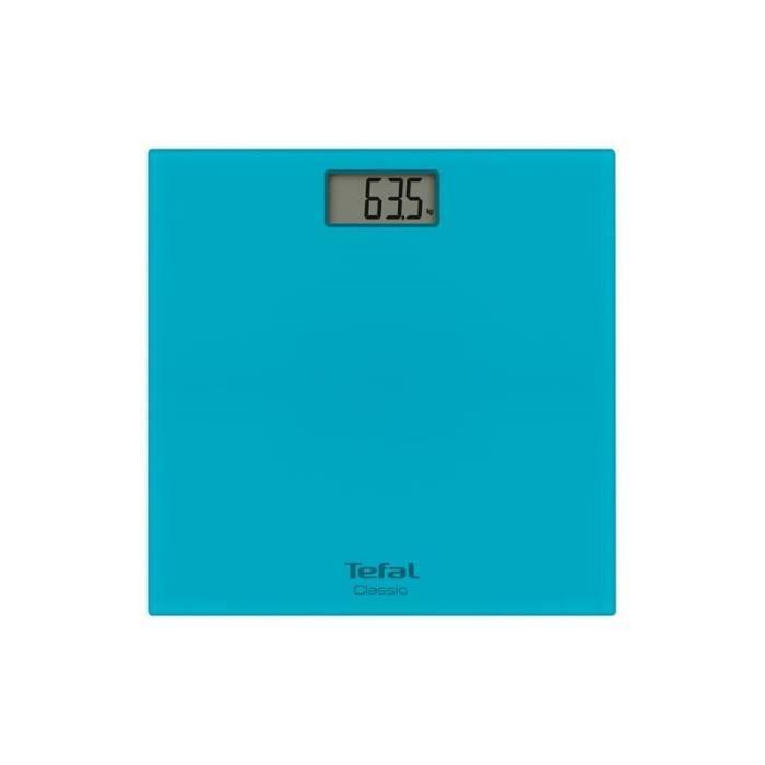 TEFAL Pèse-personne Turquoise 160 Kg Max