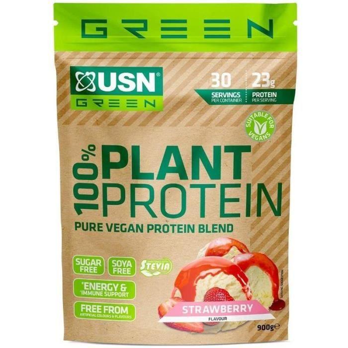 Whey Vegan USN Protéine en Poudre Végétale 1 Kg