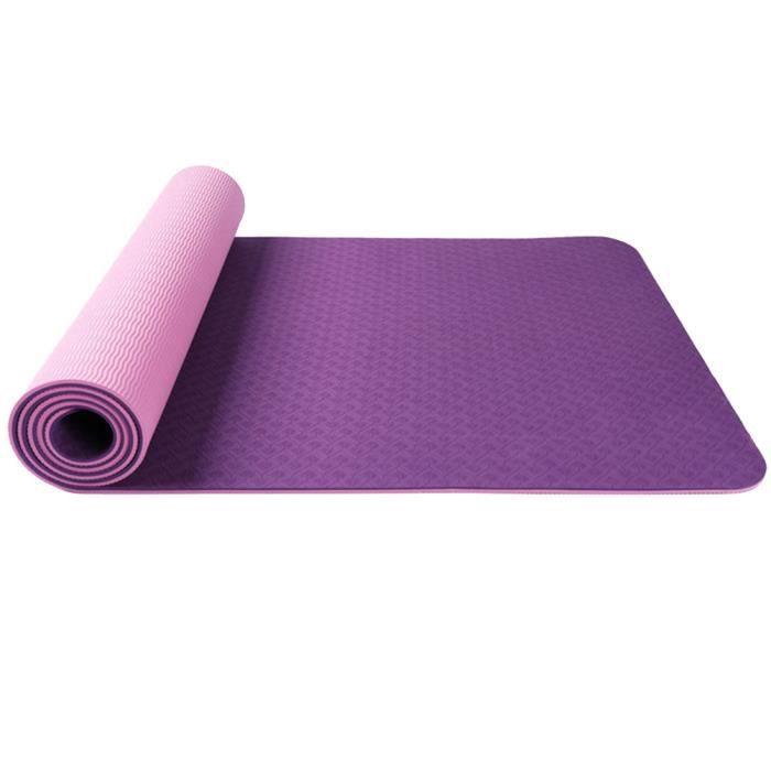1 Pc Yoga Mat Prime Durable Sturdy Exercice Sport pour Fitness Exercise TAPIS DE SOL - TAPIS DE GYM - TAPIS DE YOGA
