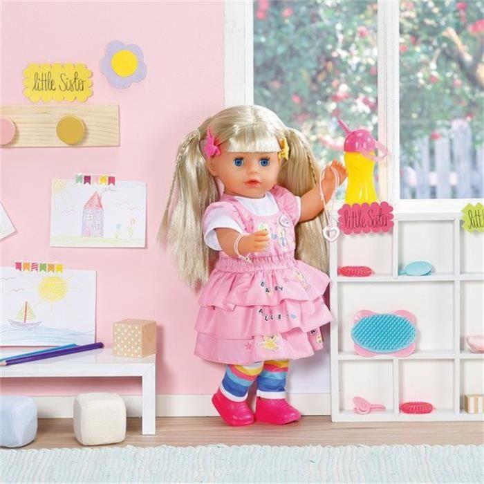 Zapf Creation - 828533 - Baby born Poupée Maternelle Little Sister 36cm
