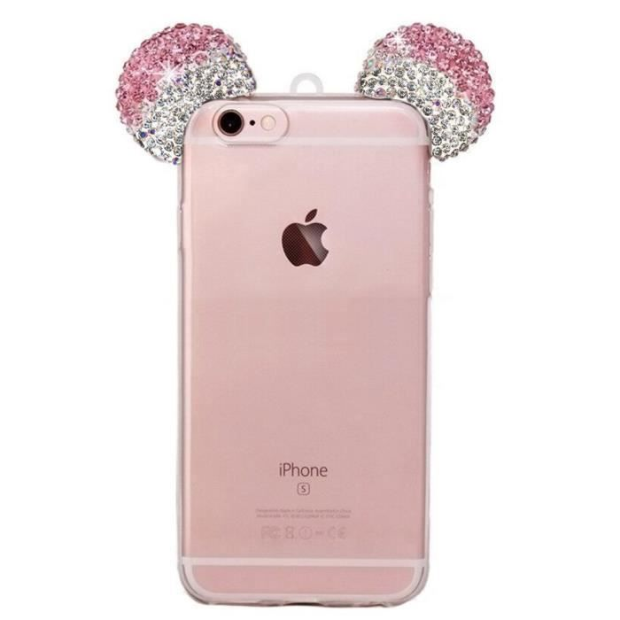coque iphone 7 mickey oreille