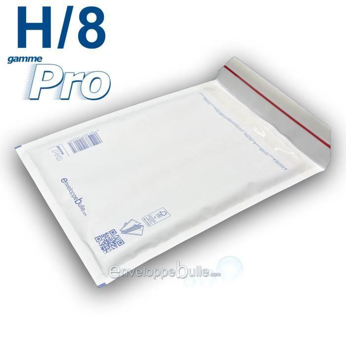 50 Enveloppes a Bulles blanche PRO H//8 270 x 360 mm dimensions int/érieur type H8 enveloppe matelass/é blanc 290 x 390 50 mm ext/érieur pochette protection dexp/édition envoi objet A4 livre catalogue