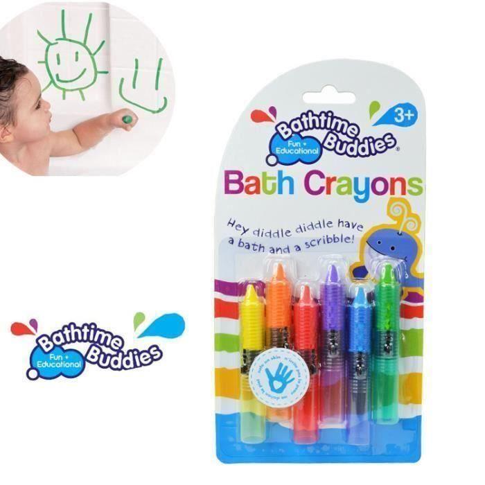 Crayons Bain-Bain Temps Amusant Jouet